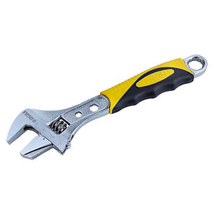 Ключ разводной с переставной губкой 200мм, 0-30мм CrV (TPR) SIGMA (4100921), фото 2