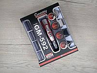 Мультитриммер GEMEI GM-592 10 в 1 (10 насадок), Бритва, Машинка для стрижки, Триммер. Усы, Борода, Нос