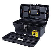 Ящик для инструмента (металлические замки) 434×239×194мм Sigma (7403661), фото 3