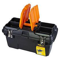 Ящик для инструмента (металлические замки) 494×263×250мм Sigma (7403671), фото 2