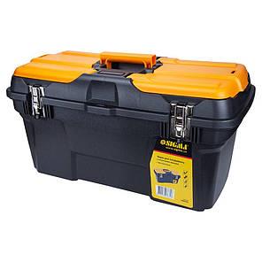 Ящик для инструмента (металлические замки) 582×310×234мм Sigma (7403681), фото 2