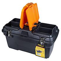 Ящик для инструмента (металлические замки) 582×310×234мм Sigma (7403681), фото 3
