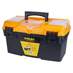 Ящик для инструмента со съёмными органайзерами 434×250×238мм Sigma (7403941)