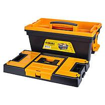 Ящик для инструмента со съёмной крышкой 394×213×216мм SIGMA (7403691), фото 3