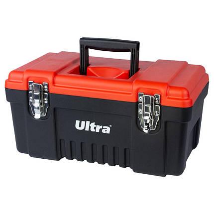 Ящик для инструмента металлические замки 405×210×200мм ULTRA (7402212), фото 2