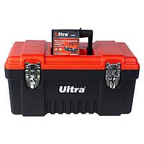Ящик для инструмента металлические замки 405×210×200мм ULTRA (7402212), фото 3
