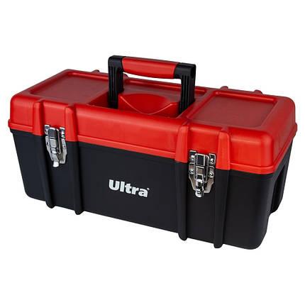 Ящик для инструмента металлические замки 510×235×230мм ULTRA (7402222), фото 2