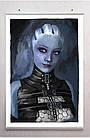 Постер плакат BEGEMOT Игра ME Mass Effect Лиара Т'Сони Liara T'Soni 40x61 см (1121437), фото 2