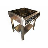 Плита индукционная InCooker 2х2.2+2x3.5 кВт 4-х конфорочная, фото 1