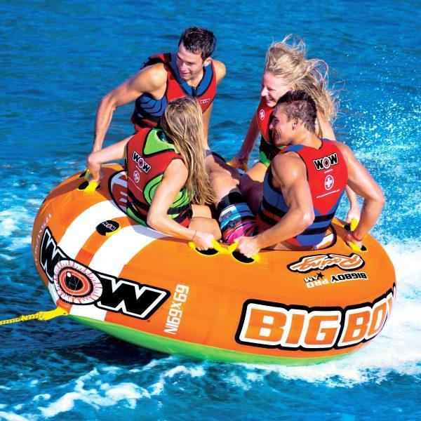 Надувна водна плюшка тримісна WOW 3 BIG BOY RACING