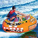 Надувна водна плюшка тримісна WOW 3 BIG BOY RACING, фото 3