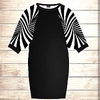 Умное платье с 3D принтом Лабиринт