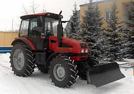 Отвал бульдозерный гидроповоротный Блюминг на трактор Беларус 80/82