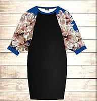Умное платье с 3D принтом Магнолия