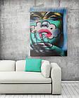 Картина на холсте BEGEMOT Pop-Art Девушки Галерейная натяжка 30x45 см (1110015), фото 2