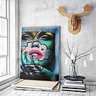 Картина на холсте BEGEMOT Pop-Art Девушки Галерейная натяжка 30x45 см (1110015), фото 3