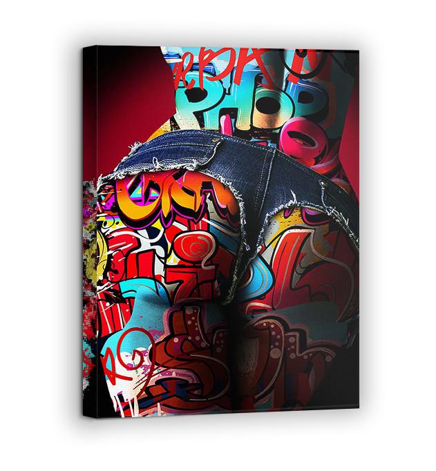 Картина на холсте BEGEMOT Pop-Art Девушки Галерейная натяжка 30x45 см (1110022)