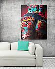 Картина на холсте BEGEMOT Pop-Art Девушки Галерейная натяжка 30x45 см (1110022), фото 2