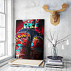 Картина на холсте BEGEMOT Pop-Art Девушки Галерейная натяжка 30x45 см (1110022), фото 3