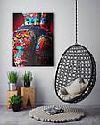 Картина на холсте BEGEMOT Pop-Art Девушки Галерейная натяжка 30x45 см (1110022), фото 4