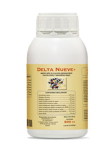 Cтимулятор цветения Delta 9 Nueve 500 мл