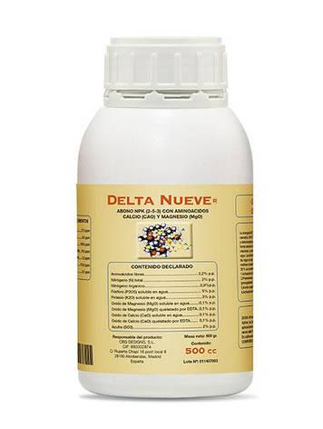 Cтимулятор цветения Delta 9 Nueve 500 мл, фото 2
