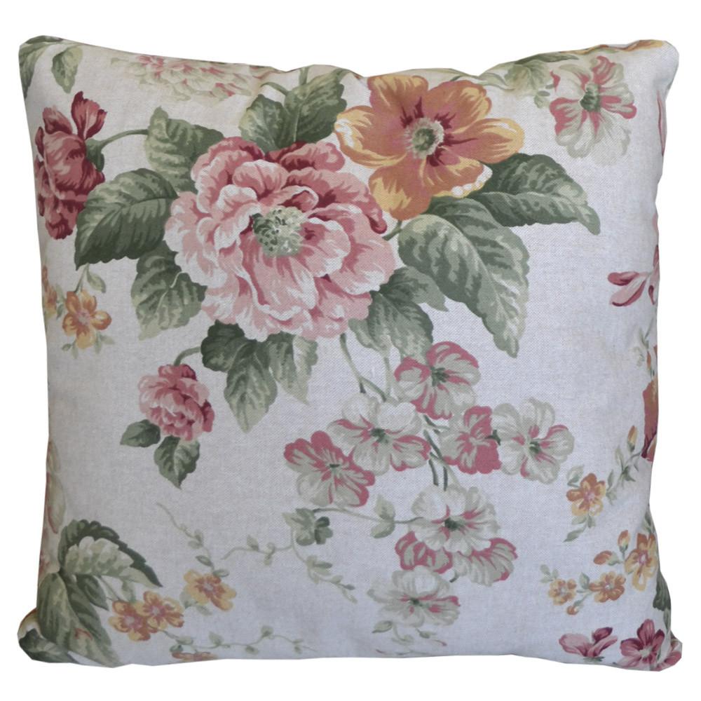 Подушка декоративная Глория розы