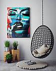 Картина на холсте BEGEMOT Pop-Art Девушки Галерейная натяжка 30x45 см (1110030), фото 4