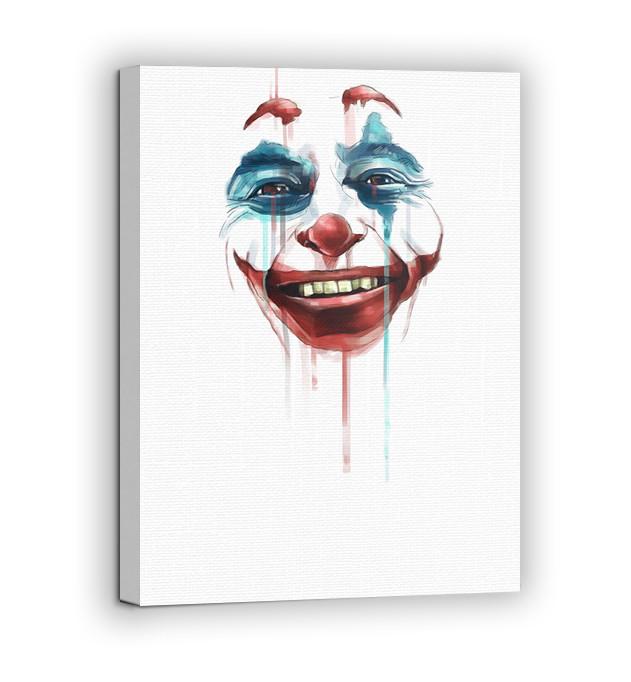 Картина на холсте BEGEMOT Джокер Галерейная натяжка 30x45 см (1110037)