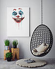 Картина на холсте BEGEMOT Джокер Галерейная натяжка 30x45 см (1110037), фото 4