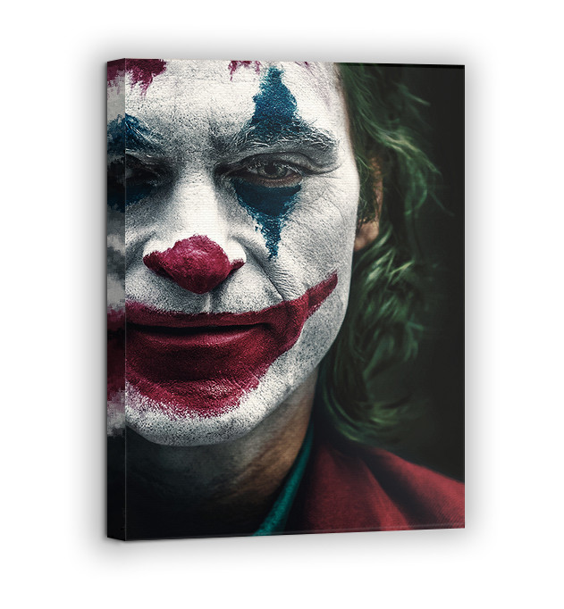 Картина на холсте BEGEMOT Джокер Галерейная натяжка 30x45 см (1110039)