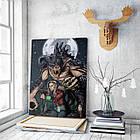 Картина на холсте BEGEMOT Fallout Галерейная натяжка 30x45 см (1110041), фото 3