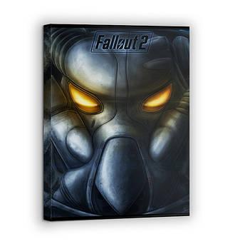 Картина на холсте BEGEMOT Fallout Галерейная натяжка 30x45 см (1110045)