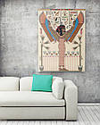 Картина на холсте BEGEMOT Древнеегипетский богиня Исида Галерейная натяжка 40x60 см (1110062), фото 2
