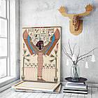 Картина на холсте BEGEMOT Древнеегипетский богиня Исида Галерейная натяжка 40x60 см (1110062), фото 3