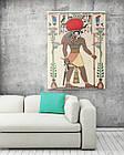 Картина на холсте BEGEMOT Древнеегипетский бог Ра Галерейная натяжка 40x60 см (1110064), фото 2