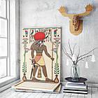 Картина на холсте BEGEMOT Древнеегипетский бог Ра Галерейная натяжка 40x60 см (1110064), фото 3