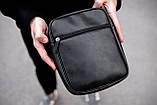 Чоловіча шкіряна сумка через плече Puma RV, фото 4