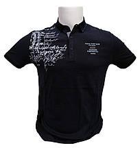 Поло футболка мужская Marco Star с надписями