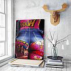 Картина на холсте BEGEMOT Pop-Art Девушки Галерейная натяжка 40x60 см (1110070), фото 3