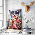 Картина на холсте BEGEMOT Pop-Art Девушки Галерейная натяжка 40x60 см (1110077), фото 3
