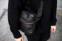 Мужская кожаная сумка через плечо Philipp Plein RV, фото 1