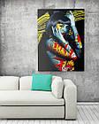 Картина на холсте BEGEMOT Pop-Art Девушки Галерейная натяжка 40x60 см (1110085), фото 2