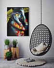Картина на холсте BEGEMOT Pop-Art Девушки Галерейная натяжка 40x60 см (1110085), фото 4