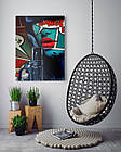 Картина на холсте BEGEMOT Pop-Art Девушки Галерейная натяжка 40x60 см (1110088), фото 4