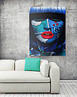 Картина на холсте BEGEMOT Pop-Art Девушки Галерейная натяжка 40x60 см (1110092), фото 2