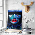 Картина на холсте BEGEMOT Pop-Art Девушки Галерейная натяжка 40x60 см (1110092), фото 3