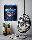 Картина на холсте BEGEMOT Pop-Art Девушки Галерейная натяжка 40x60 см (1110092), фото 4