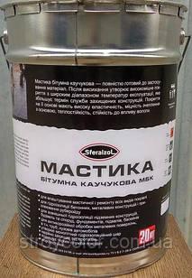 Мастика битумная-каучуковая Sfreizol 3 кг. (Сфераизол гидроизоляция)