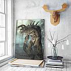Картина на холсте BEGEMOT Fallout Галерейная натяжка 40x60 см (1110108), фото 3